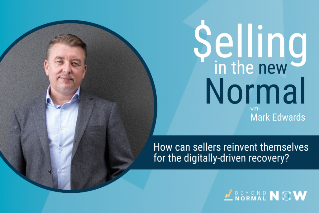Reinventing yourself as a seller