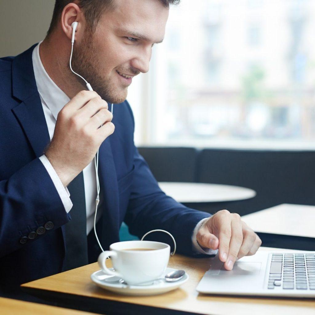 Virtual business training